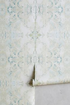 Edith Wallpaper #anthropologie