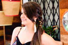 Blog da Dressa: Penteado da Semana - Rabo Lateral