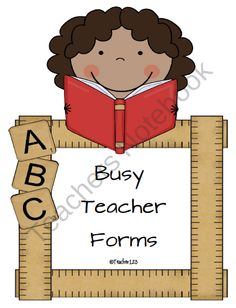 Forms for busy teachers $