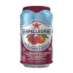 San Pellegrino Sparkling Fruit Beverages, Melograno e Arancia/Pomegranate and Orange, 11.15-ounce cans (Total of 24) -- To view further, visit : Amazon fresh