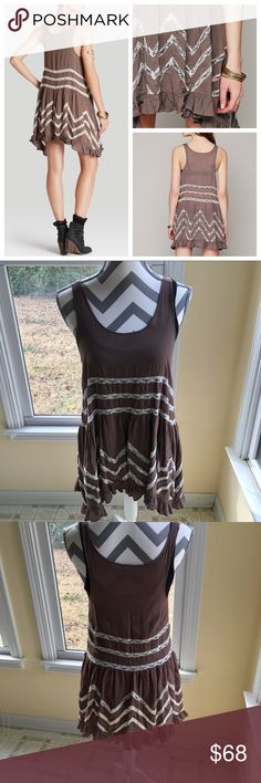 bb907388007d5c Free People Voile Lace Trapeze Slip Dress SZ S EUC This Excellent Used  Condition Free People Voile Lace Trapeze Slip Dress is a woman s size Small.