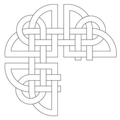 Providing Digital Quilting Patterns for Computer Assisted Long Arm and Short Arm Quilting Machines, since Celtic Patterns, Celtic Designs, Celtic Symbols, Celtic Art, Mosaic Patterns, Quilt Patterns, Celtic Circle, Celtic Knot Tattoo, Cross Stitch Cushion