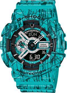 G-Shock Classic GA110SL-3A $170