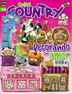 Revistas de manualidades gratis: manualidades de vaquitas para la cocina country