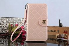 Chanel Samsung Galaxy S5 i9600 Book Wallet Case Pink Free Shipping - Deluxeiphonecase.com