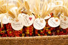 Thankful for You Tags Leaf Tags Thanksgiving Favor Tags   Etsy