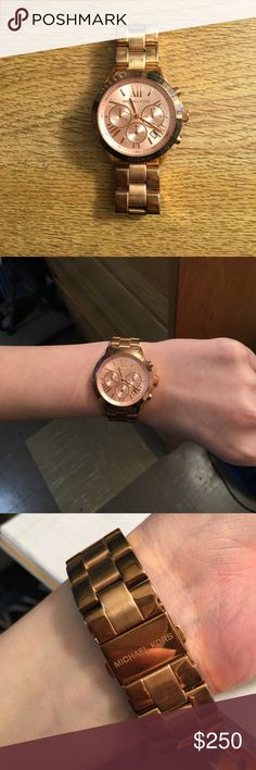 ‼️Michael Kors Watch‼️ Rose gold MIchael Kors watch Michael Kors Accessories Watches