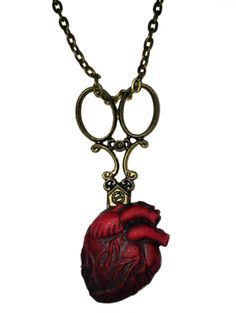 """Women's """"Be Still My Heart"""" Necklace by Se7en Deadly"""