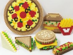 Food perler beads by perlerbeads_jp