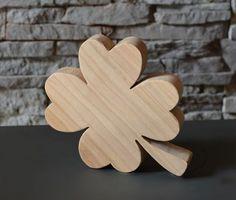 Glücksbringer, Kleeblatt, Gr.2, Holzdeko | HOLZLIEBE-ISERLOHN | Geschenke aus Holz | MADE IN GERMANY