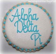 First sorority cookie