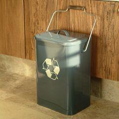 ACHICA | Garden Trading Recycle Bin, Slate