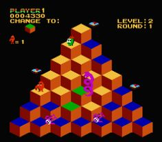 Q*bert - countless quarters were spent on this game
