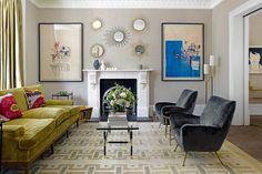 Modern Maximalism Living Room – Print & Pattern Decor Inspiration (houseandgarden.co.uk)