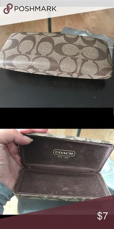 Coach glasses case Authentic used condition Coach Other
