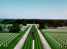 The American Cemetery at Ardennes, Belgium