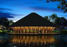 FOTOGALERÍA: Los despachos nacionales e internacionales desarrollan proyectos con estructuras y acabados de bambú.