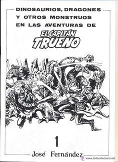 DINOSAURIOS, DRAGONES Y OTROS MONSTRUOS EN LAS AVENTURAS DE EL CAPITAN TRUENO