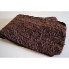 Tricot - L'écharpe en côtes fantaisie