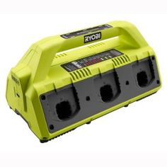 dea51768fbd2f Ryobi 18-Volt ONE+ 6-Port Dual Chemistry IntelliPort Super Charger with USB  Port