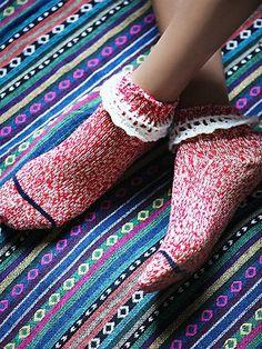 Free People Short Heathered Highland Boot Sock