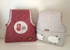 Momentos de Costura: Tutorial bolsas guarda labores de ganchillo Japanese Patchwork, Patchwork Bags, Fabric Crafts, Sewing Crafts, Sewing Projects, Sewing Patterns Free, Free Sewing, Sewing Hacks, Sewing Tutorials