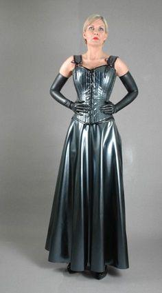 Картинки по запросу long latex dress