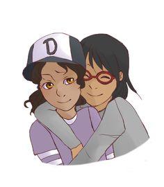 Clem and Sarah, BFFs