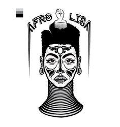 https://www.behance.net/gallery/17602681/Afro-Lisa-