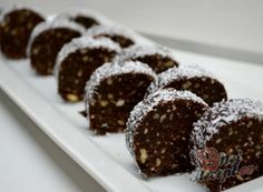 İdeen Easy Cake Best Uncooked Recipes - Treats That You Can not Bake or Cook N . Christmas Candy, Christmas Baking, Cook N, Czech Recipes, Xmas Cookies, Four, No Bake Cake, Chocolate Cake, Sweet Recipes