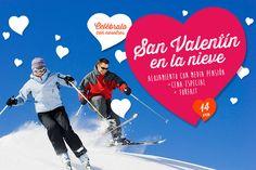 Estación de Esquí de Alto Campoo - Cantur - Cantabria - España - Celebra San Valentín en la nieve
