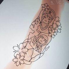 Mpre russian dolliessss To book this tattoo email prettygrotesquetattoosuk@gmail.com #tattoo #tattoos #russiandollstattoo #russiandolltattoos #russiandoll #russiandoll #calftattoo #neotrad #neotraditional #neotraditionaltattoos #neotraditionaltattoo... Calf Tattoo, Tattoo You, Love Tattoos, Beautiful Tattoos, Picture Tattoos, Tattoo Sketches, Tattoo Drawings, Russian Doll Tattoo, Nesting Doll Tattoo