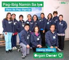 Filipino nurses support organ donation. Magaling!