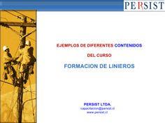 Linieros, Curso de Formacion by Personas & Sistemas via slideshare