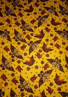 Kain Batik Pekalongan HM-033-Kuning