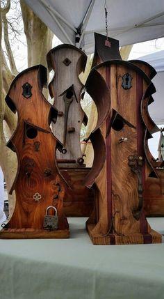 Seuss birdhouses