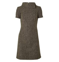 The Kingswood Dress from Hobbs London - a Beautiful 60's inspired silhouette made from a Donegal tweed fabric | Hobbs London - http://www.hobbs.co.uk/product/display?productid=0211-5271-3371L00&productvarid=0211-5271-3371L00-VICUNA%20MULTI-14&refpage=1481