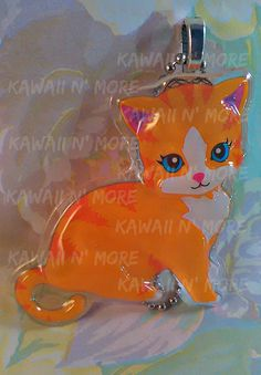Kitty Cat Pendant by KawaiiNMore on Etsy