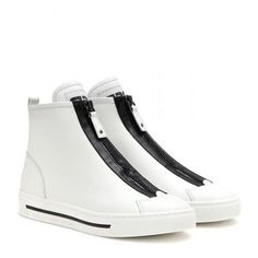 Marc by Marc Jacobs - Cute Kicks leather sneakers #sneakers #marcjacobs #offduty #designer #covetme #marcbymarcjacobs