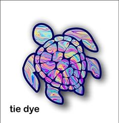 Sea Turtle Decalsticker Tye Dye AdvoCare Pinterest Tye - Advocare car decal stickers