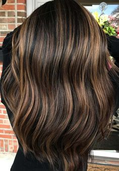 24 Perfect Brunette Hair Colors & Highlights for 2018. Here are some of the brunette hair color ideas for brown and chocolate highlights to show off in 2018. When we talk about the brown and chocolate hair color shades then the combination of brunette color and with these brown highlights always works like a charm. See these hottest ideas of hair colors to show off in 2018