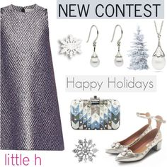 Holidays with LITTLE h JEWELRY: Contest with prizes! on Polyvore