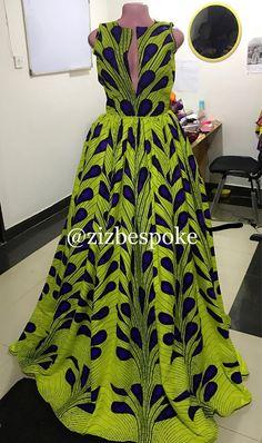Yellow Ankara Dress, Neon Purple Electric Bulb Maxi butterfly dress, prom dress, African dresses for wedding, African dresses for prom Diyanu Fashion African Maxi Dresses, Latest African Fashion Dresses, Ankara Dress, African Inspired Fashion, African Print Fashion, Africa Fashion, African Wear, African Attire, African Print Dress Designs