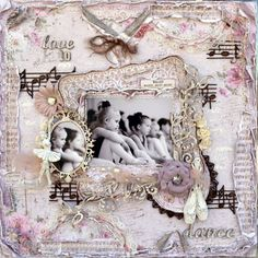 Love to Dance ***Maja Design***Dusty Attic***  Vintage Summer Basics Collection from Maja Design