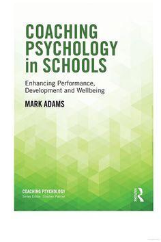 Coaching Psychology in Schools