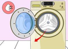 Ze legt 2 vaatwastabletten in haar wasmachine. Erg handig met een geweldig resultaat! - Leuke Ideeën