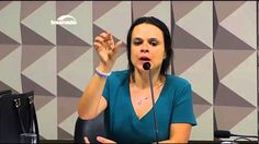 Jurista Janaína Paschoal deixa Senadores Petistas sem argumentos na CEI ...