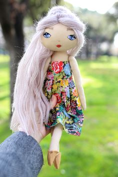 Hand made doll, made with love :)