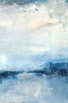Blue Essence Abstract Canvas Painting – II – Ellie Lane | Furniture & Decor for Coastal & Mountain Interiors