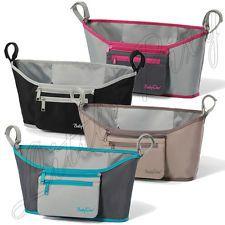 Universal Pram Pushchair Stroller Organiser Buggy Organizer 4 Colours BNWT